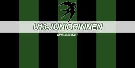 U13-Juniorinnen mit gerechtem Unentschieden in der Kray Arena