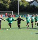 U11-Juniorinnen mit erstem Sieg in der Jungenliga