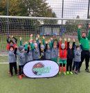 Herbst-Camp der Fussballschule Grenzland am Schetters Busch mit 65 Kids