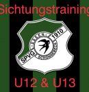 Sichtungstraining der U12 & U13 Jungschwalben